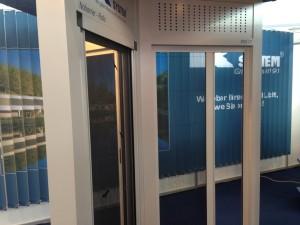 KSystem-dveresosieťkou
