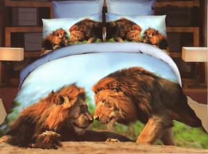 Lev v posteli