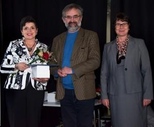 Odovzdávanie ocenenia - Hit sezóny 2017-Ing. Fialová, Jan Pijáček a Dr. Dana Daňová_r