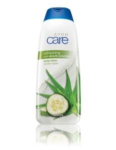 Osviezujuce telove mlieko s aloe vera a uhorkou