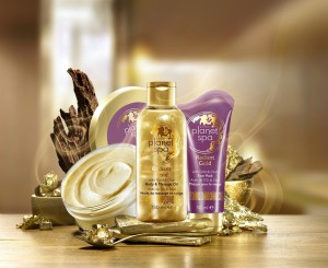 Planet Spa Gold_set small