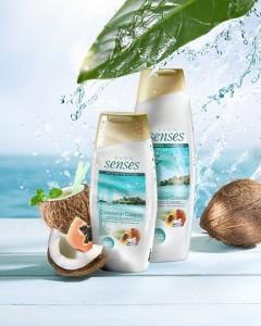 Sprchovacie kremy Senses Caribbean Colada_small