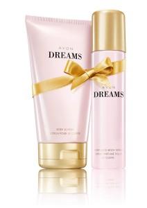 Telove mlieko a sprej Avon Dreams_small