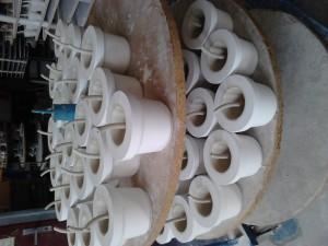 Výroba pohárku Nectarium 1