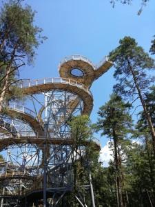 vyhliadková veža Bojnice2